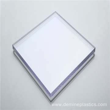 Plastic sheet high glossy solid polycarbonate sheets